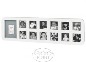 Набор Baby Art First Year Print Frame white & grey
